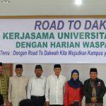 Acara Road To Dakwah Kerjasama Universitas Almuslim dan Harian Waspada Sukses
