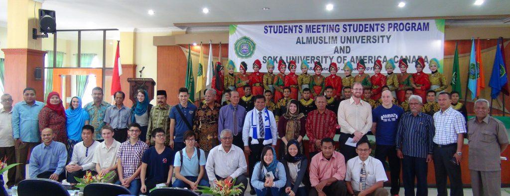 Kunjungan Dosen Serta Mahasiswa Soka University of America ke Kampus Umuslim