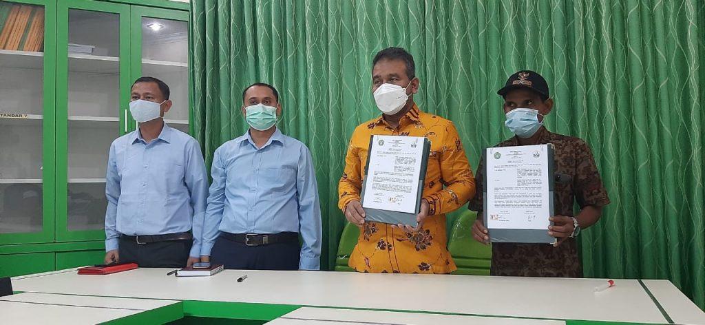 Umuslim teken MoU dengan Gampong Cot Jrat