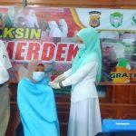 Dosen dan Mahasiswa Umuslim di Vaksin Covid-19