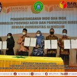 Umuslim tandatangani MoU dengan Bawaslu dan KIP